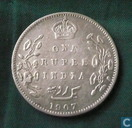 British India 1 rupee 1907 (Calcutta)