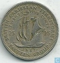 British Caribbean Territories 25 cents 1957