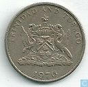 Trinidad and Tobago 25 cents 1976 (no mint mark)
