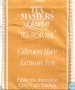 Citroen thee  Lemon tea