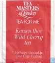 Kersen thee  Wild Cherry Tea