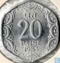 Indien 20 Paise 1983 (Hyderabad)