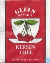 Tea bags and Tea labels - Geels - Kersen Thee