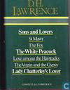 Sons and lovers-St Mawr-The fox-The white peacock-Love among the haystacks-The virgin and the gypsy-Lady Chatterley's lover