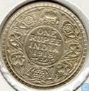 British India 1 rupee 1918 (Calcutta)