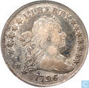 "Verenigde Staten dollar 1796 ""large date, small letters"""