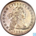 "Verenigde Staten dollar 1796 ""small date, large letters"""
