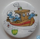 BP (Smurfen in stoomboot)