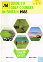 AA Guide to Golf courses in Britain 1988