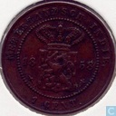 Dutch East Indies 1 cent 1858