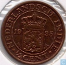 Nederlands-Indië ½ cent 1935