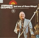 Stephane Grappelli Just one of those things