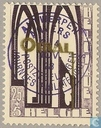 First Orval, with overprint