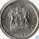 South Africa 10 cents 1981