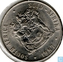 South Africa 50 cents 1987
