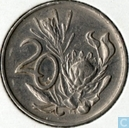 Coins - South Africa - South Africa 20 cents 1981