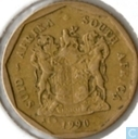 South Africa 10 cents 1990