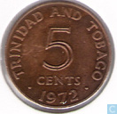 Trinidad and Tobago 5 cents 1972