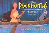 Diney's pocahontas postcard books