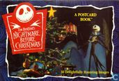 Tim Burton's nightmare before christmas postcard book