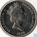 Solomon Islands 20 cents 1996