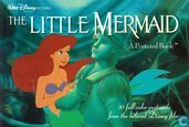 Disney's the Little Mermaid postcard book