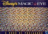 Disney's Magic Eye postcard book