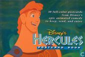 Disney's Hercules postcard book
