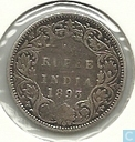 Coins - British East India - British India ¼ rupee 1893 (Silver)