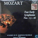 Four early symphonies No. 13 - 16