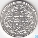 Coins - the Netherlands - Netherlands 25 cent 1940