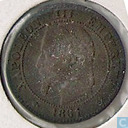 France 2 centimes 1861 (K - collar to 8)