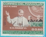 Paul VI visits the UN