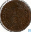 Straits Settlements ½ Cent 1884