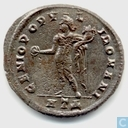 Roman Empire Antioch Follis of the Emperor Diocletian 297-298 AD