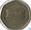 "Sri Lanka 2 rupees 1976 ""Non-Aligned Nations Conference"""