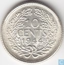Coins - the Netherlands - Netherlands 10 cent 1944 S