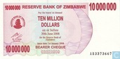 Zimbabwe 10 Million Dollars