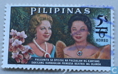 Princes Beatrix and Mrs. Macapagal