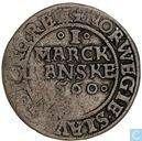 Denemarken 1 mark 1560