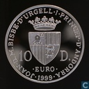 "Andorra 10 diners 1999 ""50th Anniversary-European Council"""