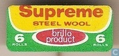 Supreme Steel Wool - Brillo Product 6 rolls