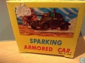 Silver Sparking Armored car