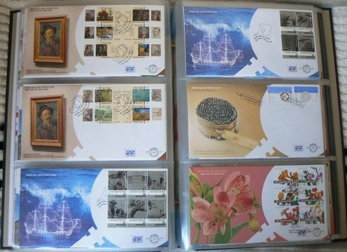 Nederland 1962/2003 - Complete collectie FDC's in 4 albums