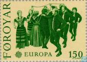 Postage Stamps - Faroe Islands - Europe – Folklore