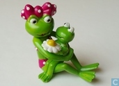 Frog with child