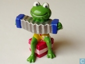 Frog in accordion