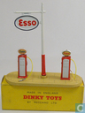 Petrol Pump Station `Esso`