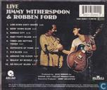 Platen en CD's - Ford, Robben - Live Jimmy Witherspoon & Robben Ford