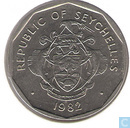 Seychelles 5 rupees 1982